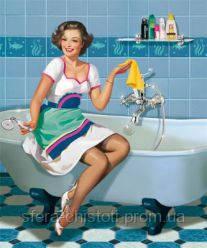 средства для уборки ванной и туалета