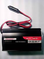 Інвертор 12VDC-220VAC  300Вт(МАХ 600Вт) Prowest
