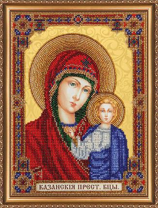 """Набор для вышивания бисером """"Домашний иконостас Богородица"""", фото 2"""