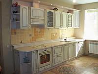 Кухня Классическая,прованс, прямая, фото 1