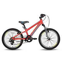 Велосипед 20'' PRIDE JOHNNY Race красно-желтый матовый 2016