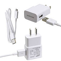 Зарядное  устройство Samsung galaxy s4 2in1(adap+cable) 2A