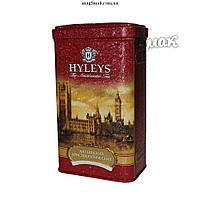 Чай HYLEYS Английский аристократический, ж/б, листовой,  125 г