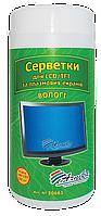 Влажные салфетки для TFT/LCD и плазменных экранов Арника (30661)