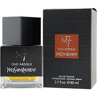 Мужская туалетная вода La Collection M7 Oud Absolu Yves Saint Laurent (мягкий, благородный  аромат)