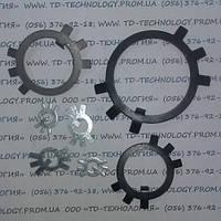 Шайба стопорная многолапчатая Ф95 по ГОСТ 11872-89, DIN 5406., фото 1