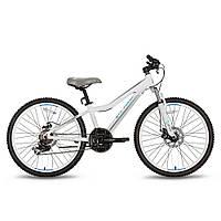 Велосипед 24'' PRIDE PILOT 21 бело-серый матовый 2016