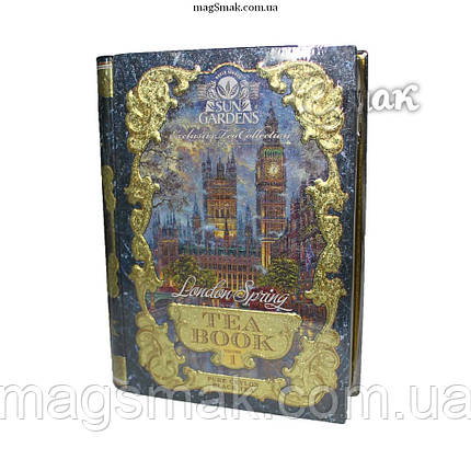 """Чай - книга """"Весна в Лондоне"""", Том №1, листовой, sun gardens tea book, 100 г, фото 2"""