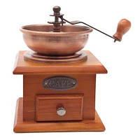Ручная деревянная  кофемолка KA-SF 004