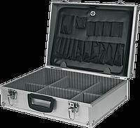 Ящик 79R220 Topex для инструмента  320 x 450 x 150 алюминиевый