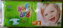 Подгузники Helen Harper Soft & Dry размер 5 Junior (11-25 кг) 44 шт.