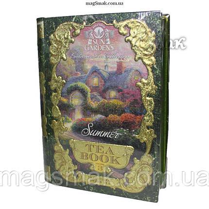 """Чай - книга """"Лето"""", Том №3, листовой, sun gardens tea book,100 г, фото 2"""