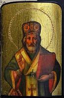 Икона Святого Николая Чудотворца дорожная