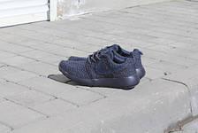 Кроссовки мужские Nike Roshe Boost темно синие, фото 3