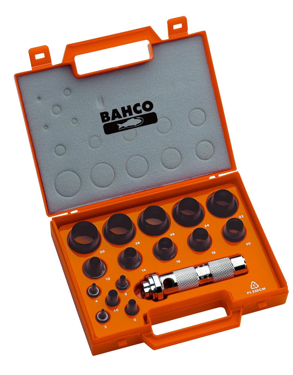Набор мягких пробойников, 16 штук, Bahco, 400.003.030