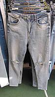 Купить джинсы не потертые колени