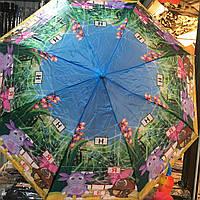"Детский зонт ""Лунтик 2"" от компании Star Rain полуавтомат, 2 сложения, 8 спиц"