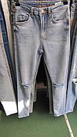 Купить джинсы рваные колени