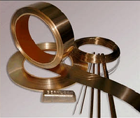 Лента бронзовая 0,3х200 БрБНТ БроФ БрКМц