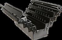 Ящик 79R102 Topex для инструмента секционный 550 x 200 x 270 металлический, 5 секций