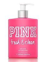Лосьон Pink Victoria's Secret Fresh & Clean, 500 мл, оригинал из США