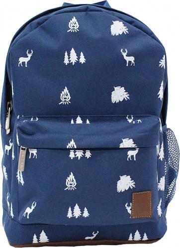 Необычный молодежный рюкзак 17 л Bagland 533663-1 синий