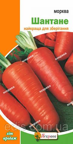 Морковь Шантане 3 г, семена Яскрава, фото 2