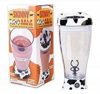 Чашка-миксер Skinny Moo Stirring Mug (оранж,малина)