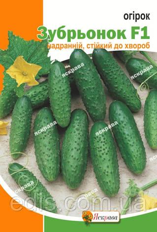 Огурец Зубренок F1 5 г, семена Яскрава, фото 2