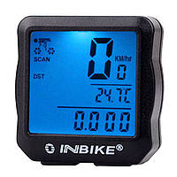Велокомпьютер INBIKE 528 многофункциональный (с подсветкой)