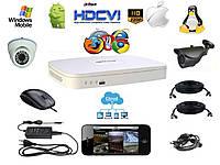 SEVENTEK HDCVI KIT 2 (Комплект видеонаблюдения HDCVI 1 уличная)