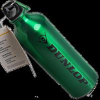 Бутылка для воды алюминивая с карабином зеленого цвета, 750 мл, фото 1
