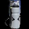 Бутылка для воды с креплением к велосипеду, серая, 750 мл