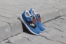 Кроссовки мужские Nike Roshe Boost  голубые, фото 2