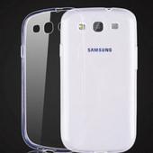 Чехол силиконовый прозрачный для Samsung Galaxy S3