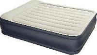 Двуспальная надувная кровать Bestway 67444 (203x152x38 см.) со встроенным электрическим насосом