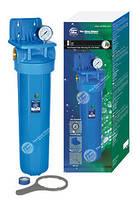 """Высокопроизводительный натрубный корпус для холодной воды типа Big Blue. 1"""" - FH20B1-B-WB Aquafilter (Польша)"""