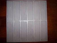 Силиконовые и полиуретановые формы для гипса и бетона Клинкерный кирпич