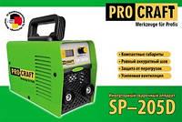Сварочный инверторный аппарат PROCRAFT SP-205D