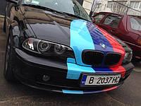 НАШИ РАБОТЫ: BMW Е46 Coupe оклейка под М-Power