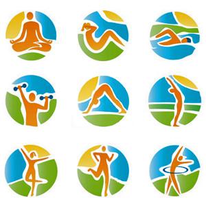 Йога, спорт, фитнес