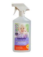 """Эко спрей для стекол и зеркал с органическим лимоном и апельсином CRISTAL GLORY """"Organic People"""""""