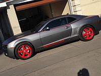 НАШИ РАБОТЫ: Chevrolet Camaro оклеивание в серый матовый металлик