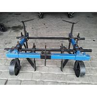 Культиватор для мотоблоков КМО-1,2 междурядной обработки (усиленный, на колесах)