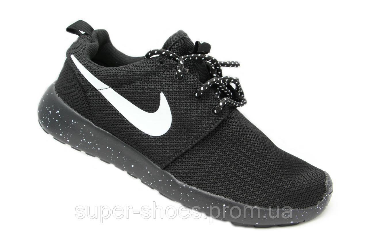 141a7ea26b72ab Мужские кроссовки Nike Roshe Run Black - купить по лучшей цене в ...