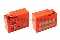 "АКБ   12V 2,3А   гелевый, Honda   ""OUTDO""   (115x49x86, ``таблетка``, оранжевый)"