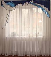 Жесткий ламбрекен  Дельфин 2,50м, фото 1