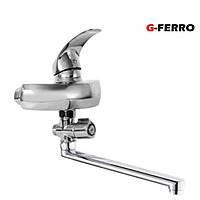 Смеситель для ванны G-Ferro Mars-005euro 40мм