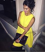 Платье женское в желтом цвете