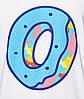 Футболка мужская стильная Odd Future Blue Dots Camo Donut, фото 2